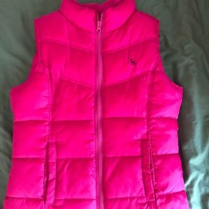 Girls X Large puffy vest